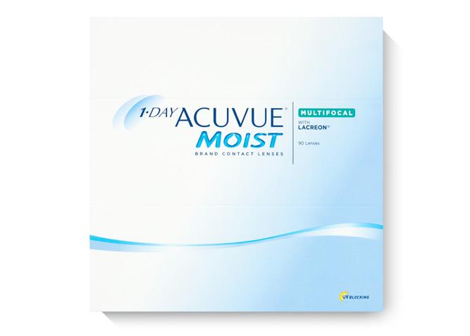 ACUVUE 1-Day Moist Multifocal 90pk